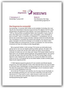 TVG nieuws 2020-3